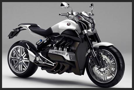 tung motorsykkel